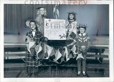 1964 Ridge Brook Elementary Students Advertise China Town Ohio Press Photo