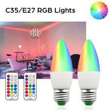 2xE26 E27 Rgb Rgbw Led Light Bulb Multi Color Changing Magic Lamp Remote Control