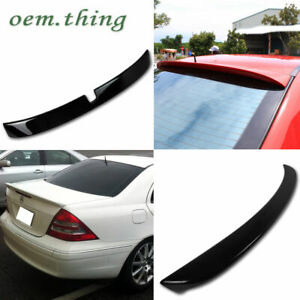 2001 C320 C280 Fit FOR Mercedes BENZ W203 ROOF + A TYPE TRUNK SPOILER PAINTED