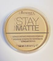 Rimmel Stay Matte Long Lasting Pressed Powder Mattierender Puder 01 Transparent