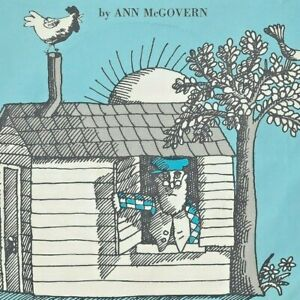 1968 TOO MUCH NOISE SCHOLASTIC LP 33 1/3 RPM ANN MCGOVERN Farm Animals Cow Cat