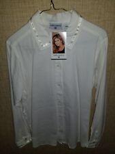 Vintage Kathy Ireland Womens Dress Shirt Size Small