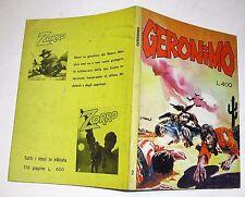 (s) fumetto western  GERONIMO anno IX n  2  ( 1977)