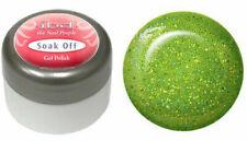 ibd Soak Off Gel Polish Glitter Glistening Green - .25oz/7g - 56296