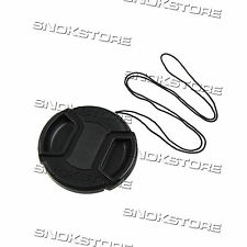 58mm TAPPO PER LENTE OBBIETTIVO LENS CAP WITH CENTER PINCH COPRI LENTE DSLR