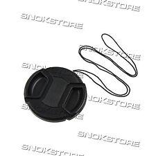 58mm TAPPO PER LENTE OBIETTIVO LENS CAP WITH CENTER PINCH COPRI LENTE DSLR