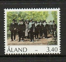 Aland 1992 70th Anniv First Aland Prov Parliament SG62 unmounted mint stamp