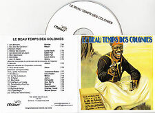 CD PLASTIC SLEEVE COLLECTOR TEMPS DES COLONIES 19T PIAF/MAYOL/BAKER/ALIBERT