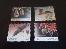 SAMOA 1993 SG 898-901 ENDANGERED SPECIES  MNH
