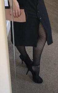 Womens New Look Black Strappy Sexy Platform Heels Uk 6