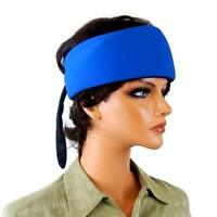 Cooling Head/Neck Wrap Bandana with Freezable Gel Pack Insert Blue Shell Durable