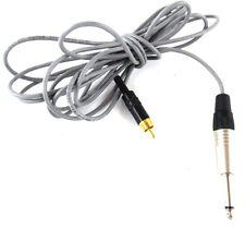 "Mono Cable 8 Foot Custom Made Neutrik 1/4"" Male Phone Plug RCA GOLD West Penn"