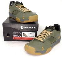 Scott MTB AR Mountain Bike Flat Pedal Shoes Moss Green Men's Size 8 US / 41 EU