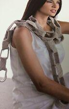 Chain Link Scarf Crochet Pattern