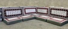 Sark Kösesi Orientalische Sitzecke, Sitzkissen Set mit 9 teilen