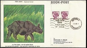 India Mailed Roses  Definitive 2000 FDC Local Mail Flora Flowers Rose first day