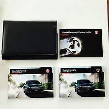VAUXHALL INSIGNIA OWNERS MANUAL HANDBOOK PACK + NEW BLANK SERVICE BOOK From 2012