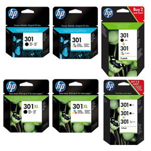 Original HP 301 Drucker Patronen Tinte OfficeJet 2620 4630 4632 2622 HP301XL