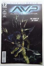 NEW ECCC 2017 ALIEN VS. PREDATOR Life And Death SIGNED by BRIAN ALBERT THIES