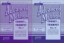 Rubank Advanced Method Vol 1 & 2 - Trumpet, 2 Book Set, RBK TRUMPET ADV SET