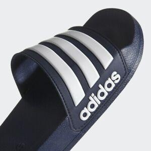 adidas Adilette Cloudfoam Men's Shower Slides Navy / White / Navy AQ1703 US 12