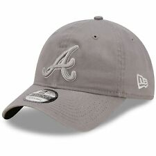 Atlanta Braves New Era Misty Morning Core Classic 9TWENTY Adjustable Hat - Gray