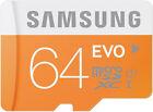 Samsung EVO 64GB Micro SD SDXC Class 10 Memory Card for Samsung Galaxy S3 S4 S5