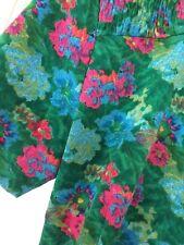 Floral wrap dress 10 12