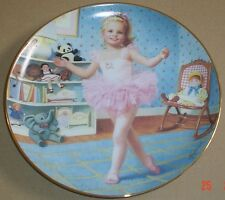 Danbury Mint Collectors Plate TUESDAYS CHILD From CHILDREN OF THE WEEK