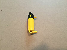 Lego Pneumatic Yellow Cylinder Pump Round Bottom - Large Multiples Available