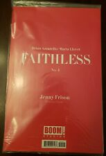 Faithless Number 4 Erotica Cover by Jenny Frison Comic Still in Bag