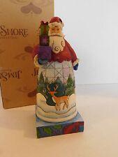 Heartwood Creek Jim Shore Santa Holiday Gifts 4010848 In Original Box