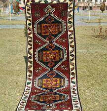 Masterpiece cr1920-1940s ANCIEN Kurde Tribal tent-woven 102cm×297cm Couloir