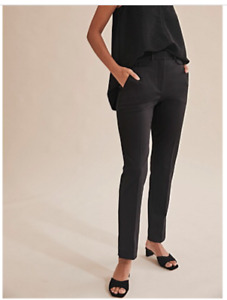 country road double cloth slim black pants size 12 current $159 never worn