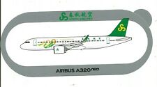 NOUVEAU 100th for SPRING AIRLINES A320neo STICKER AUTOCOLLANT AIRBUS  - NEUF