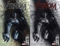 Venom 2 Marvel Now 2016 NM Gabriele Dell'Otto Color B&W Set Variant 1 Symbiote
