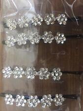 Wedding Crystal Design Motif Hair Slide Grip Clip Pin Jewel Accessories Gift UK