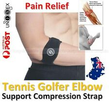 Tennis Elbow Brace Support Strap Band Golfers Forearm Protection Pain Relief