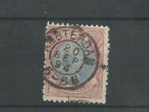 Nederland 47A  Wilhelmina 2,5 Gld  VFU/gebr  CV 180 €