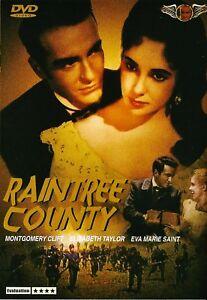 "NEW DVD "" Raintree County "" (1957 )  Elizabeth Taylor, Montgomery Clift"