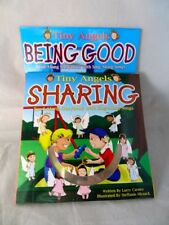 Set of Two Read & Sing Along Storybooks & Songs - Tiny Angels Being Good/Sharing