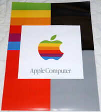 """APPLE COMPUTER poster approx 33""""/24"""" Steve Jobs mint rolled shipping"""