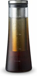 Gourmia GCM9825 Cold Brew Iced Coffee Maker With Removable Steeping Column 1L