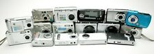 Lot Of 16 Small Digital Cameras: Canon, Hp, Samsung, Epson. For Parts Or Repair.