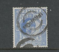 GB EVII 1902 High Value 10/- ultramarine used SG265 - CV £400+ - see scans