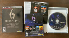 Resident Evil 6 Anthology (Sony PlayStation 3, 2012) Slipcover PS3 COMPLETE CIB
