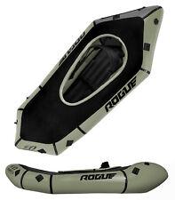 Kokopelli Rogue Spraydeck Inflatable Whitewater Packraft - Green