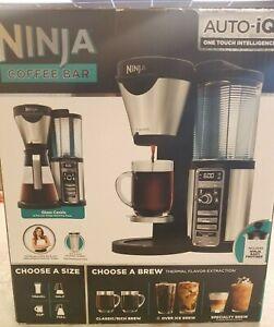 NEW -- Ninja Coffee Bar CF082 Auto IQ One Touch Intelligence