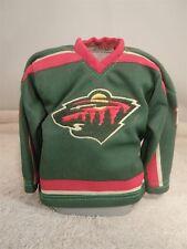 2003/04 PACIFIC HEADS UP NHL MARIAN GABORIK MINNESOTA WILD MINI SWEATER JERSEY