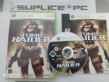 TOMB RAIDER UNDERWORLD + NOTICE - XBOX 360 - JEU FR - SUPLICE TOUL 54